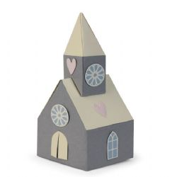 662550 Sizzix Thinlits Die Set 8PK - Scandi Church by Sophie Guilar